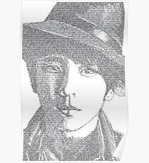 Ninomiya Kazunari Type Portrait Poster