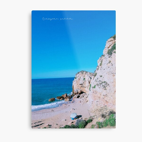 European Summer Metal Print
