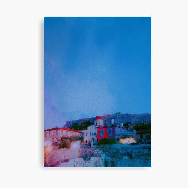Athenian Nights Canvas Print
