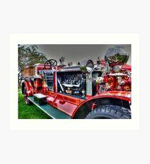Retired Firefighter Art Print