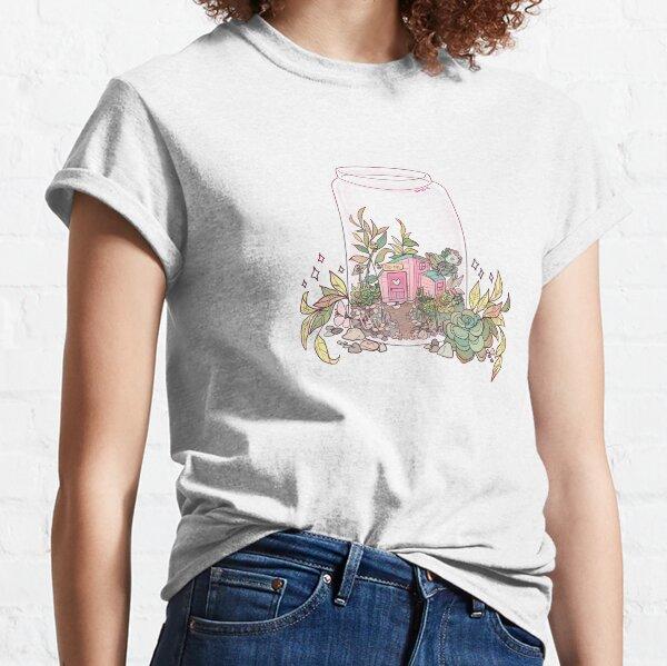 Re-tail Terrarium Sticker Classic T-Shirt