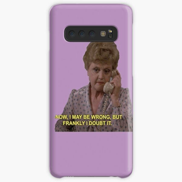 Jessica Fletcher Sticker  Samsung Galaxy Snap Case