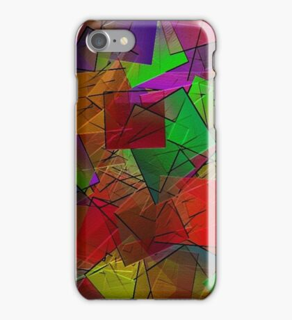 Colour Cubes-Available As Art Prints-Mugs,Cases,Duvets,T Shirts,Stickers,etc iPhone Case/Skin