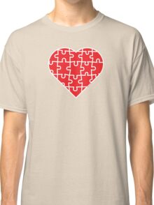 Puzzle Heart Classic T-Shirt