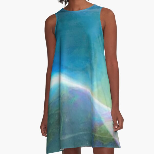 Bubble Abstract A-Line Dress