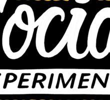 Chance the Rapper Social Experiment Sticker