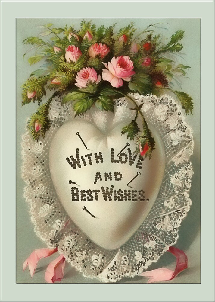 Valentine-Best Wishes by Yesteryears