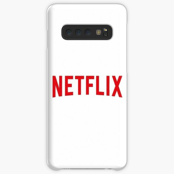 Netflix logo  Samsung Galaxy Snap Case