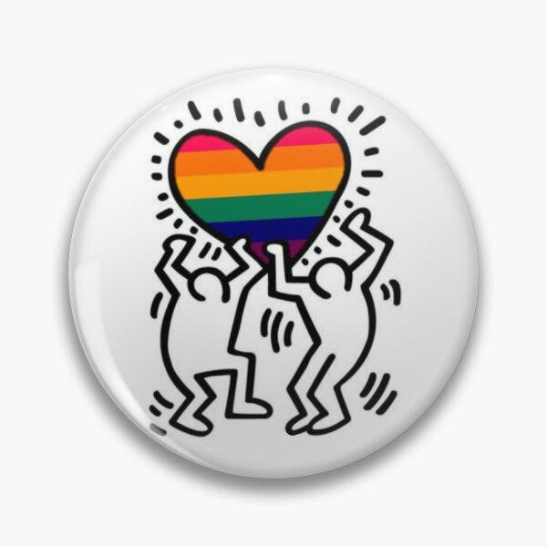 Gay Haring Pin