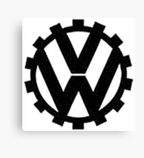 WW2 VW Logo Canvas Print