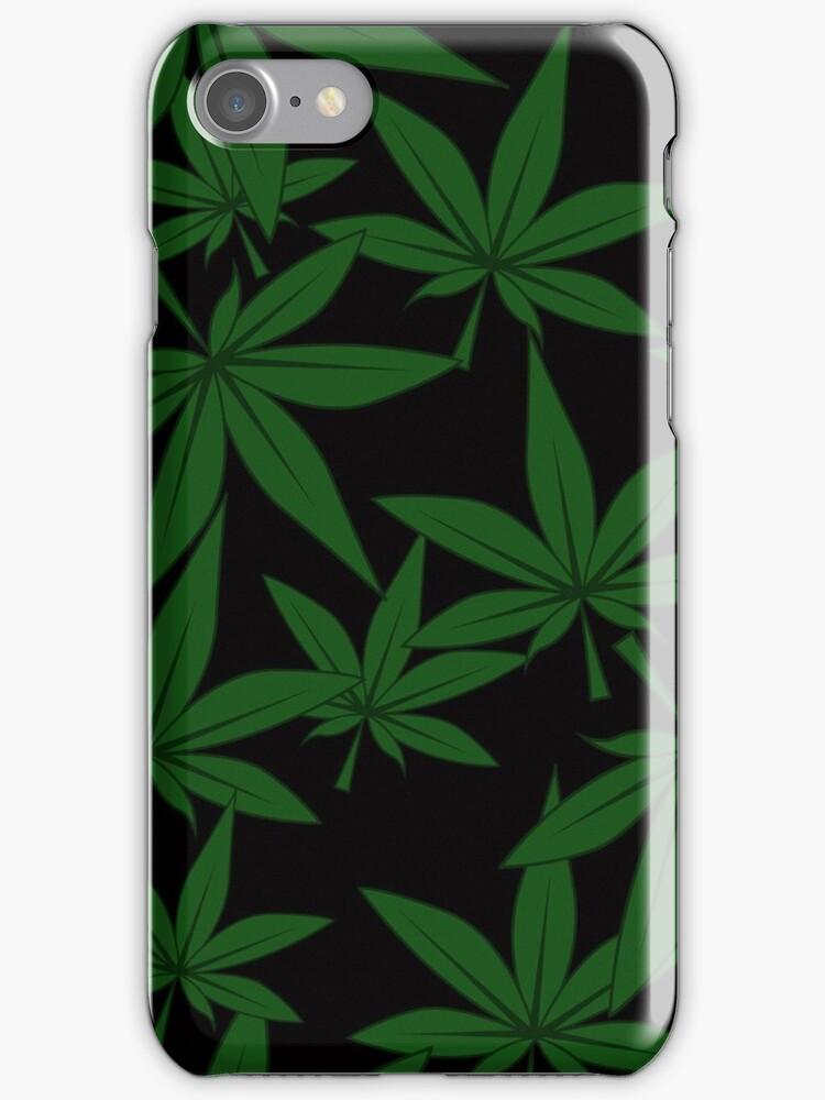 marijuana pattern by Marina Sterina