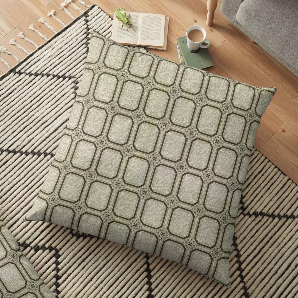 Victorian Conblock (2) Floor Pillow