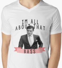 Im All about that Bass - Gossip Girl Men's V-Neck T-Shirt