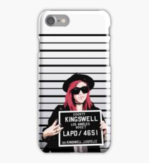 Mia Mugshot (closeup) iPhone Case/Skin