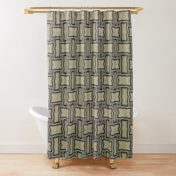 Victorian Conblock (1) Shower Curtain