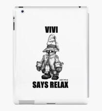 Vivi Says Relax - Ipad Case iPad Case/Skin