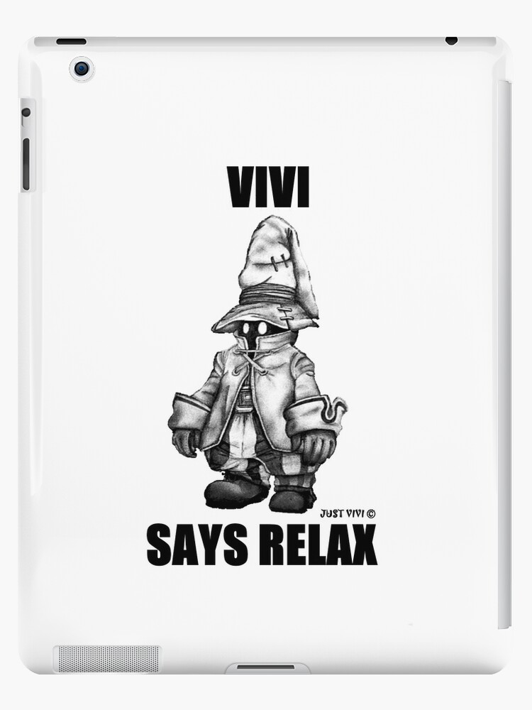 Vivi Says Relax - Ipad Case by Natalie Steel