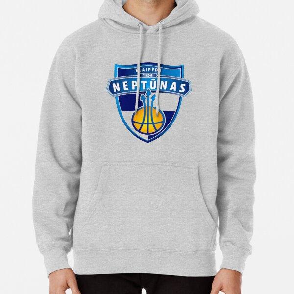 Klaipeda Neptunas Basketball Logo Pullover Hoodie