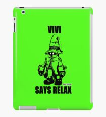 Vivi Says Relax - Green - Ipad Case iPad Case/Skin