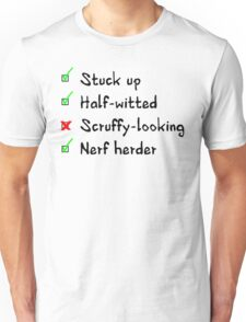 What Han objects to? T-Shirt