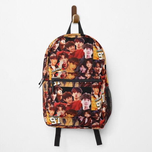 Jungkook collage design poster  2020  Backpack