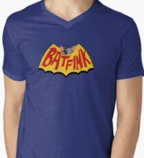 "Batfink - ""My wings are like a shield of steel!"" Men's V-Neck T-Shirt"