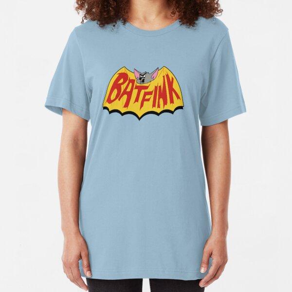 "Batfink - ""My wings are like a shield of steel!"" Slim Fit T-Shirt"