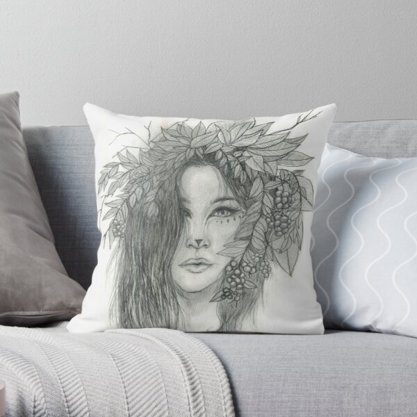 Bridid Throw Pillow