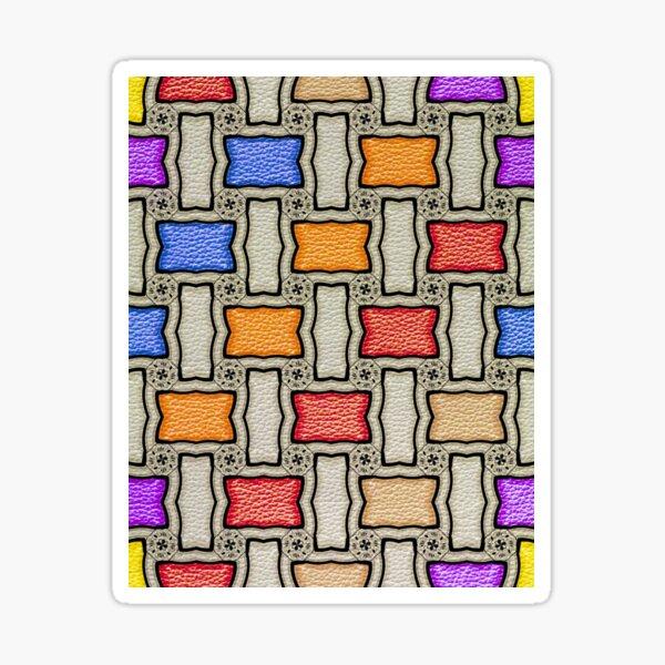 Victorian Conblock in Colors Sticker