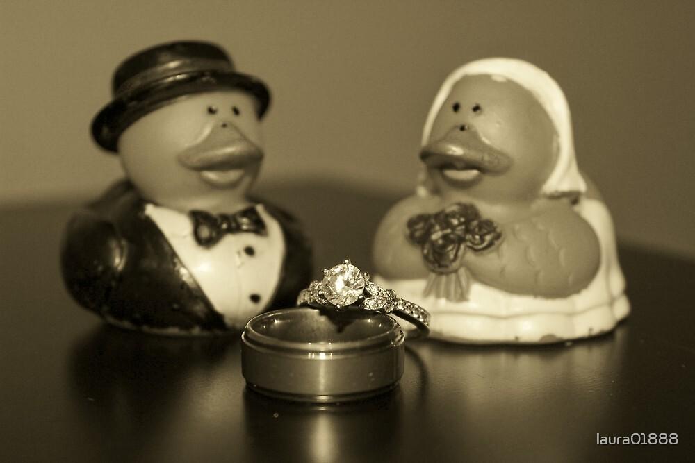 Wedding Ducks  by laura01888