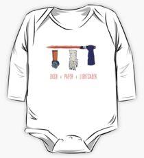 Rock Paper Lightsaber Kids Clothes