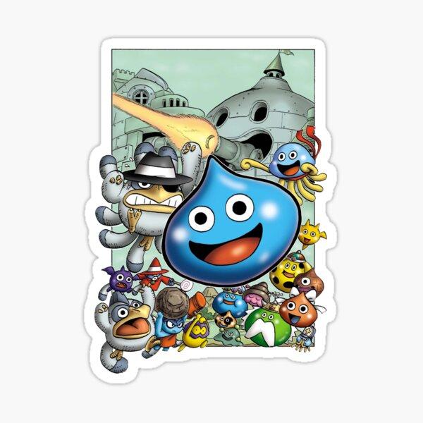 Dragon Quest Slime Print Sticker