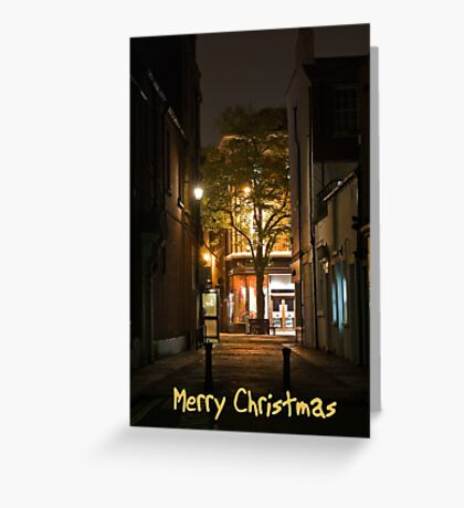 Christmas Street Greeting Card