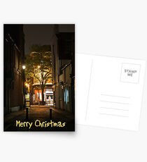 Christmas Street Postcards