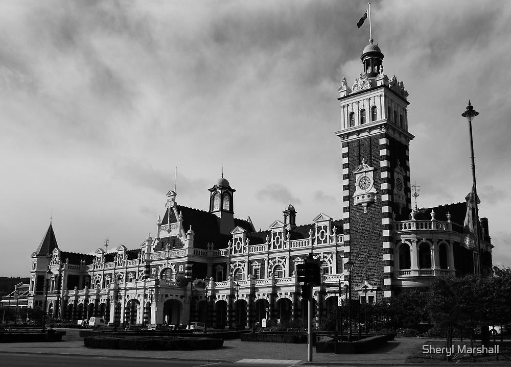 Dunedin Railway Station by Sheryl Marshall