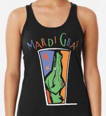 Mardi Gras Racerback Tank Top