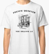 Mardi Gras French Quarter New Orleans Classic T-Shirt