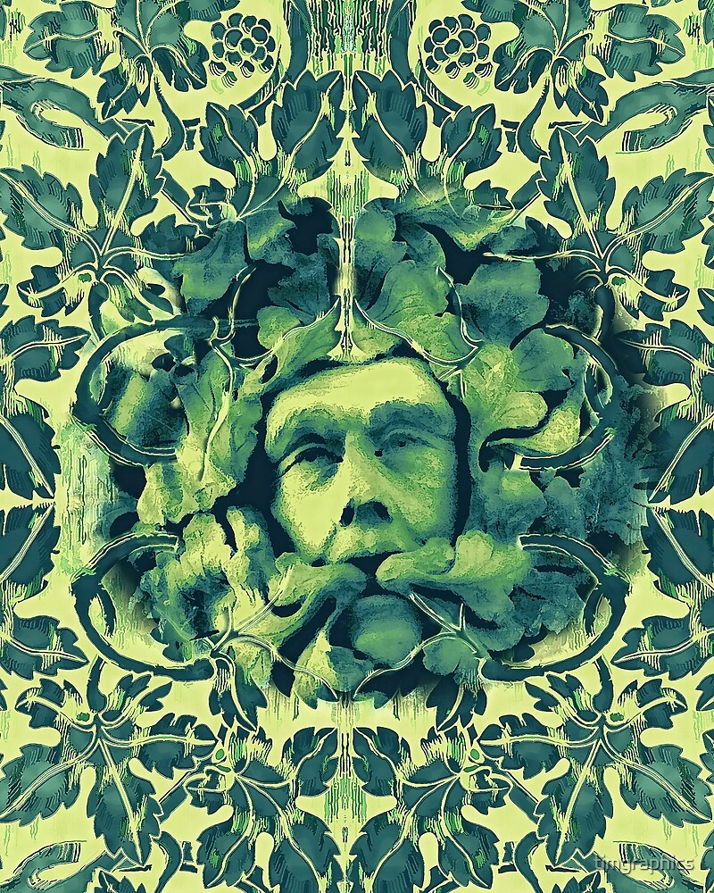 Green Man by timgraphics