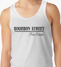 Mardi Gras Bourbon Street New Orleans Tank Top