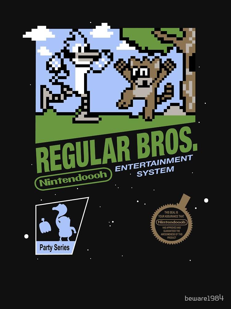 Regular Bros by beware1984