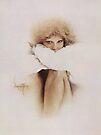 """""""Elaine"""" Oil on Canvas by Sara Moon"""