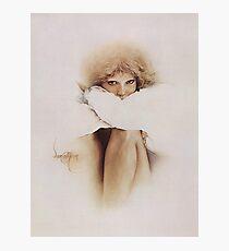 """Elaine"" Oil on Canvas Photographic Print"