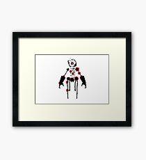 Ink Blot Ro-Bot Framed Print