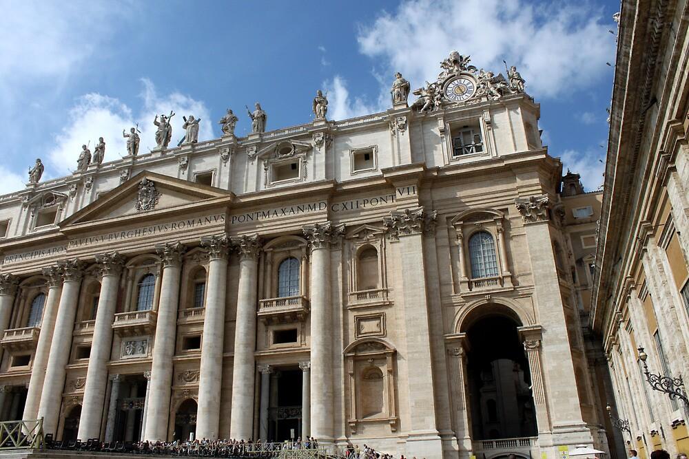 St. Peter's Basilica by Andrea  Muzzini