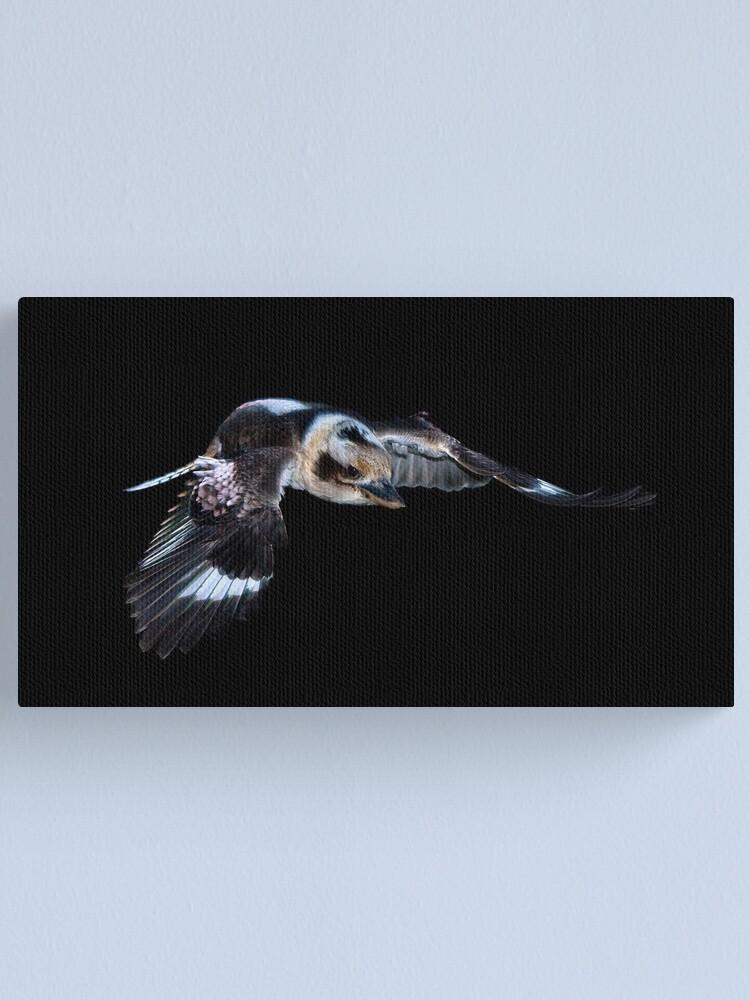 Alternate view of Flying Kookaburra Canvas Print