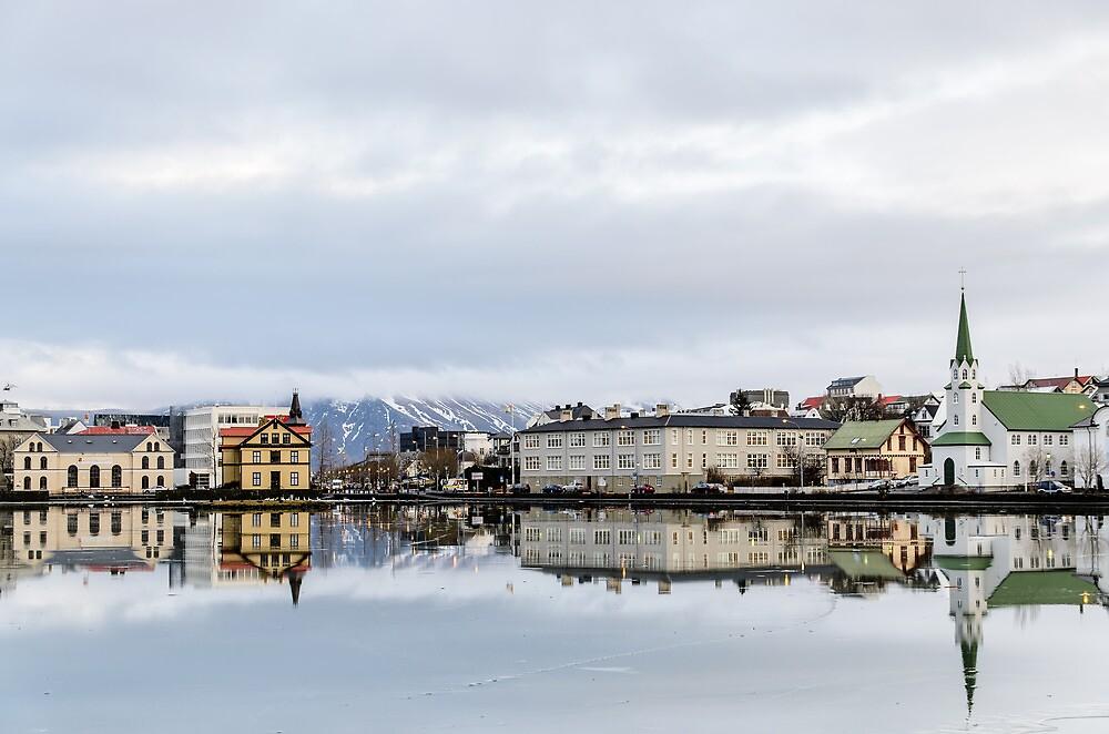 Reykjavik Downtown by Ólafur Már Sigurðsson