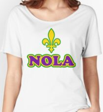 NOLA New Orleans Louisiana Women's Relaxed Fit T-Shirt