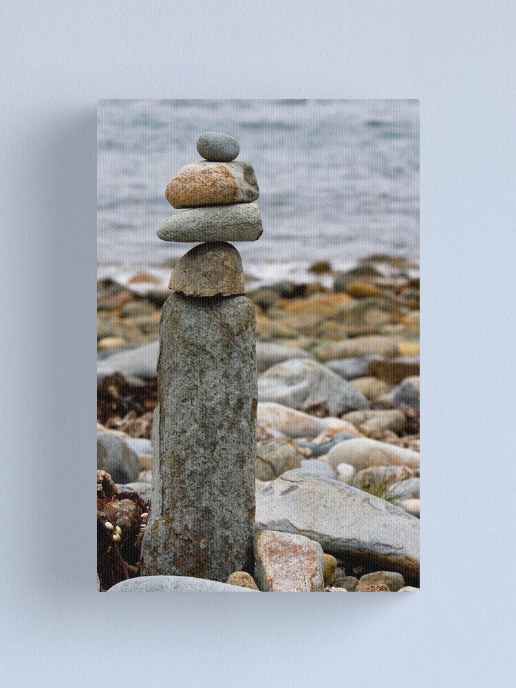 Alternate view of Balancing Rocks Canvas Print