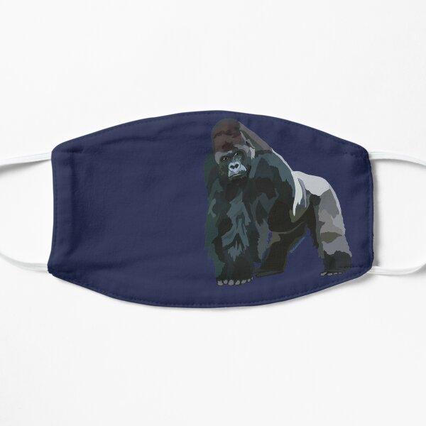 Westlicher Tieflandgorilla (Gorilla Gorilla Gorilla) Flache Maske