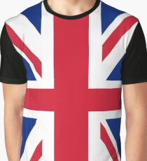 Union Jack Flag Graphic T-Shirt